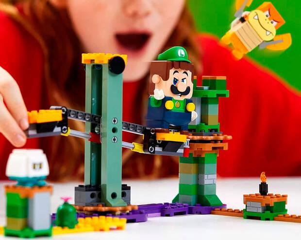 Una tienda filtra la existencia de un nuevo pack de Lego Super Mario con Luigi