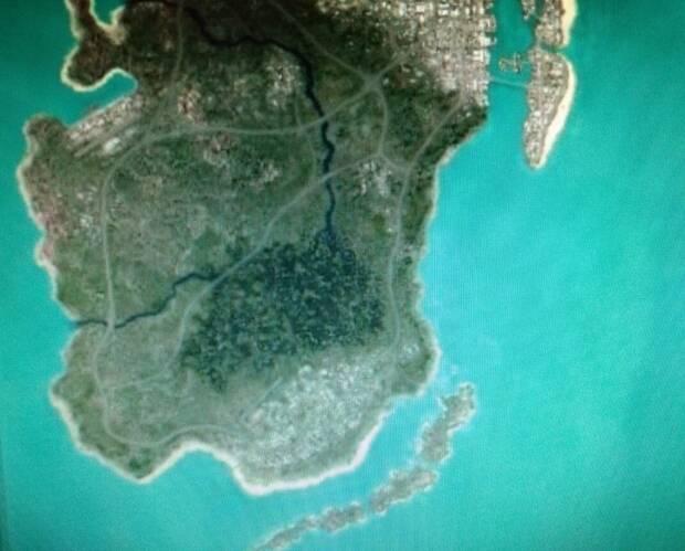 mapa de GTA VI