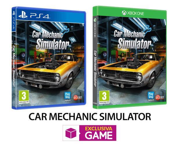GAME venderá la edición física de Car Mechanic Simulator en exclusiva Imagen 2