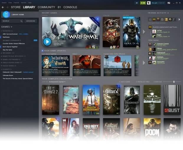 Steam muestra las primeras imágenes y detalles de su rediseño Imagen 3