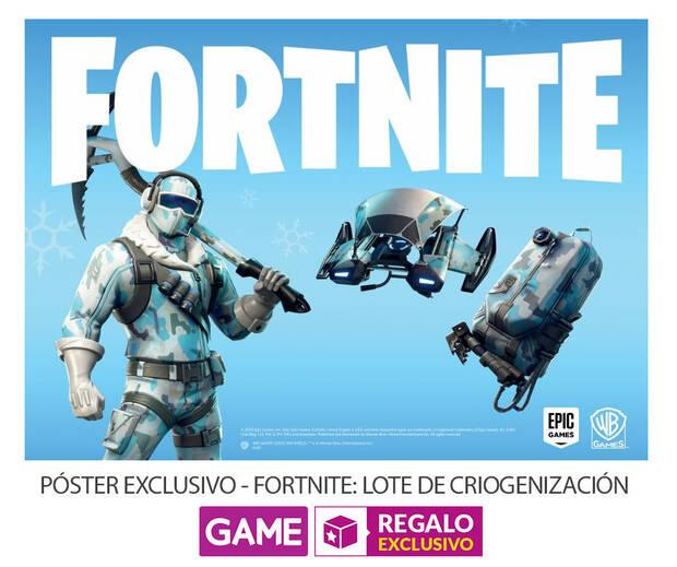 GAME detalla su incentivo por reserva para Fortnite: Lote de Criogenización Imagen 2
