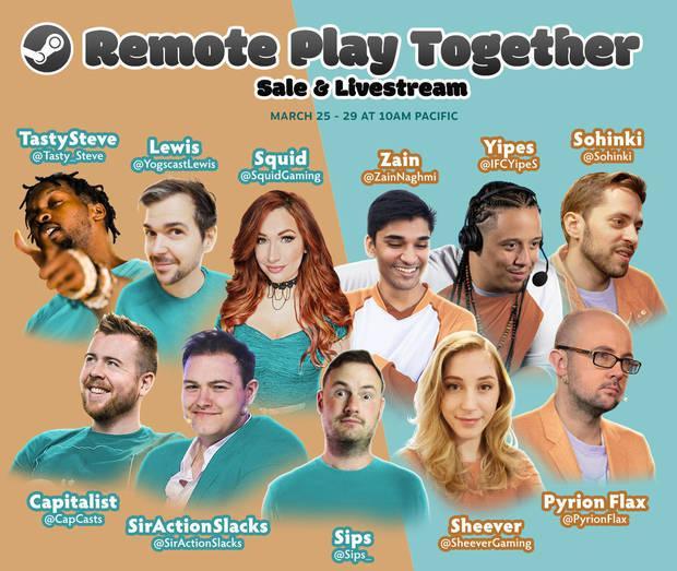 Steam Remote Play Together ofertas
