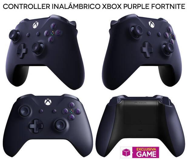 GAME venderá en exclusiva el mando lila de Fortnite para Xbox One Imagen 2