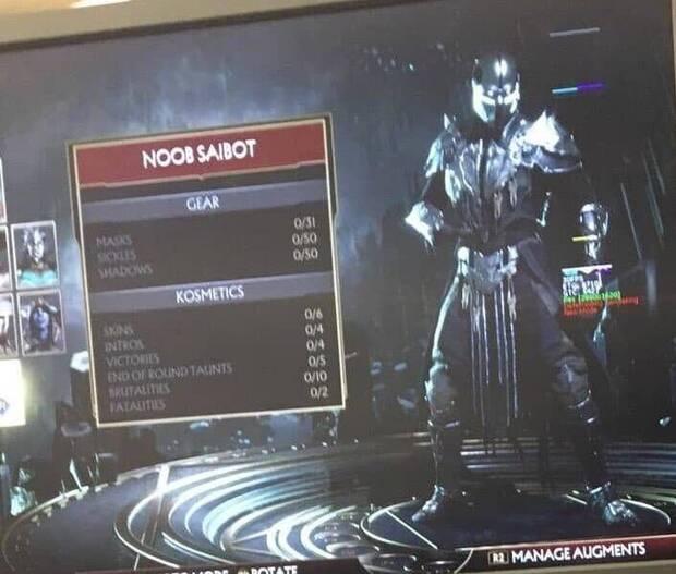 Se filtra la plantilla completa de Mortal Kombat 11 Imagen 3