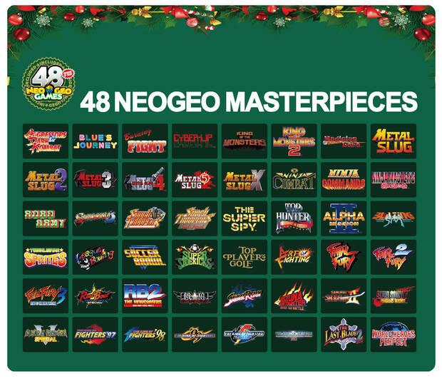 Neo Geo Mini estrenará una edición especial de la consola para Navidad Imagen 3