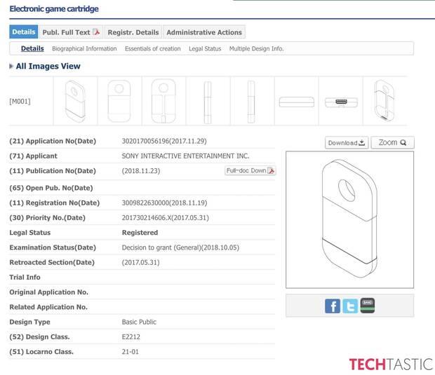 Sony patenta un nuevo tipo de cartucho para juegos Imagen 3