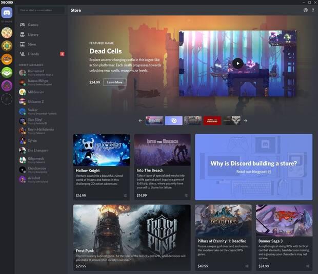 Discord diversifica su negocio y comenzará a vender videojuegos Imagen 2