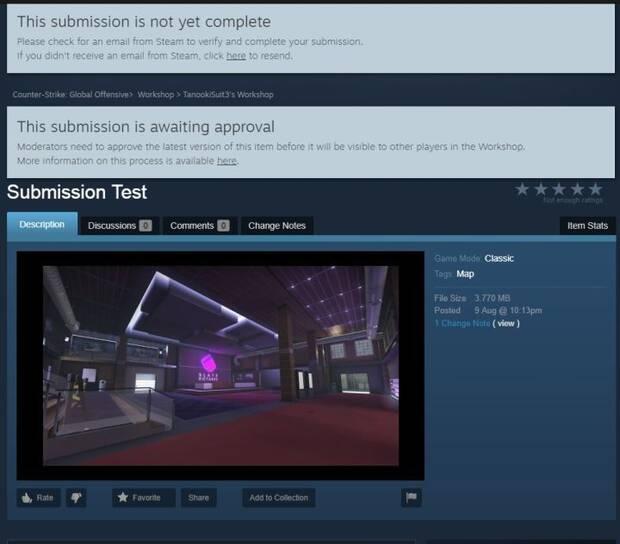 Steam Workshop comienza a moderar y revisar el contenido lanzado para los juegos de Valve Imagen 2