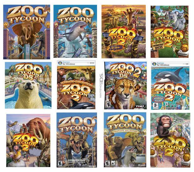 Zoo Tycoon arte de Mick McGinty