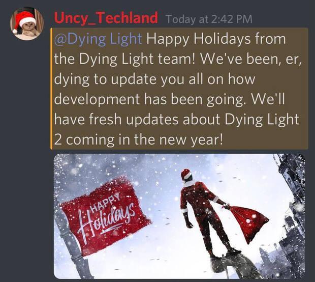 Dying Light 2 tendr