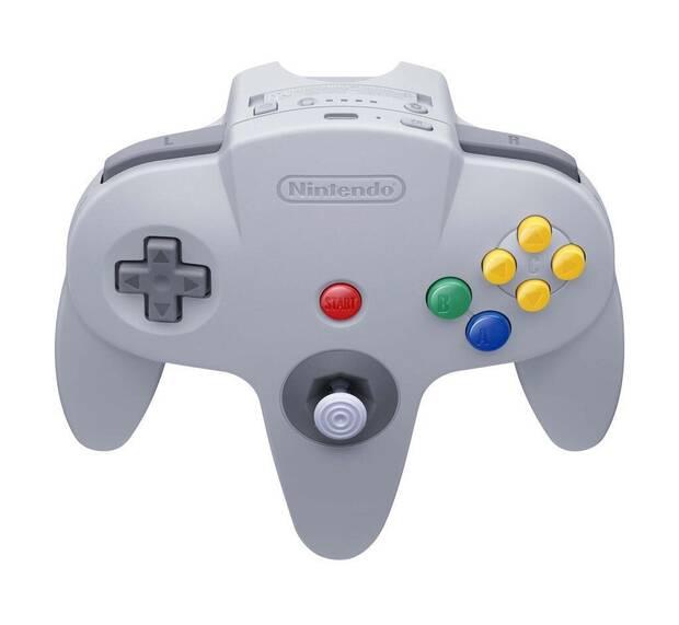 Mando de Nintendo 64 para Nintendo Switch Online.