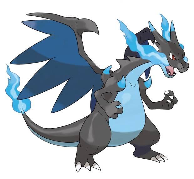Mega-Charizard X - Pokémon Let's Go