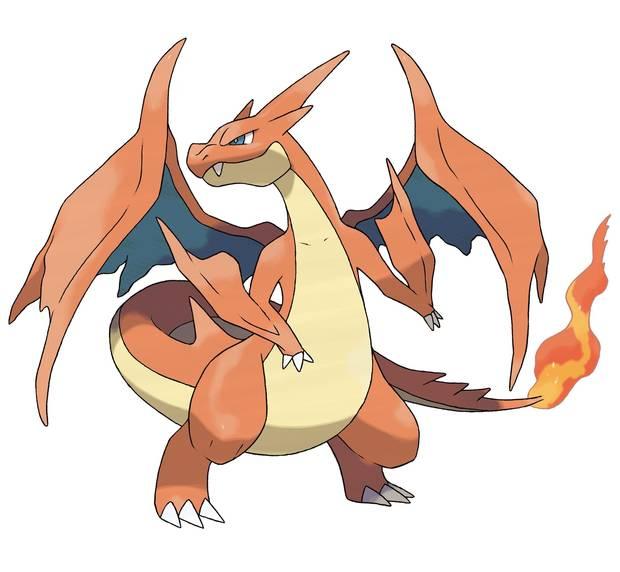 Mega-Charizard Y - Pokémon Let's Go