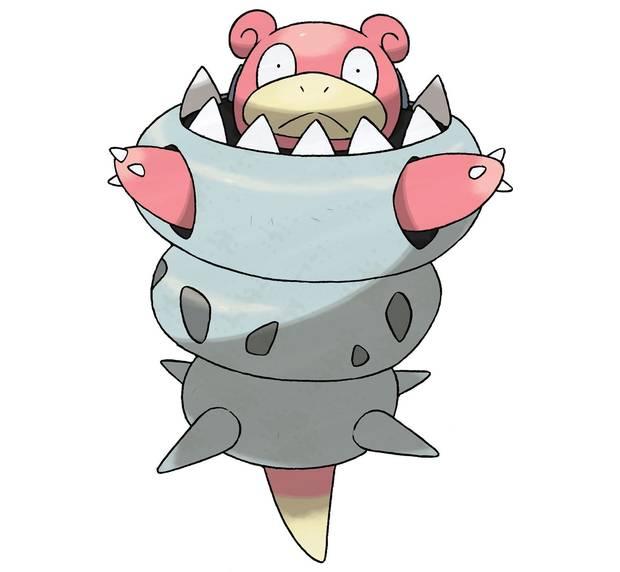 Mega-Slowbro - Pokémon Let's Go