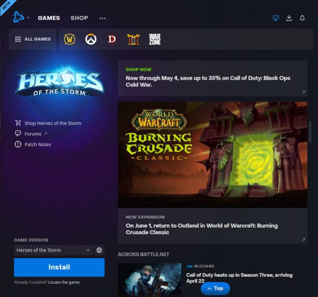 World of Warcraft Burning Crusade Classic fecha de lanzamiento battle.net