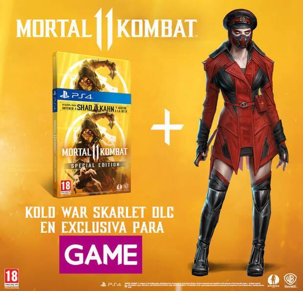 GAME detalla sus ediciones y contenidos exclusivos para Mortal Kombat 11 Imagen 2