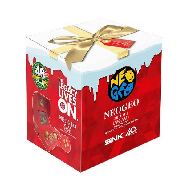 Neo Geo Mini estrenará una edición especial de la consola para Navidad Imagen 2