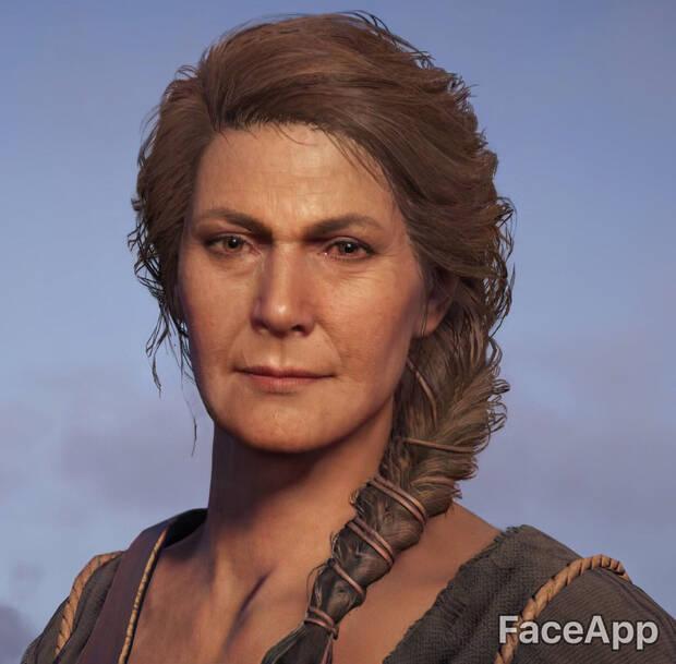 Así envejecen los personajes de videojuegos con FaceApp Imagen 19