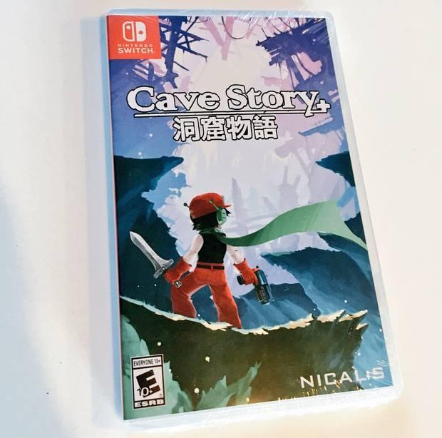 Así es la edición física de Cave Story+ para Nintendo Switch Imagen 2