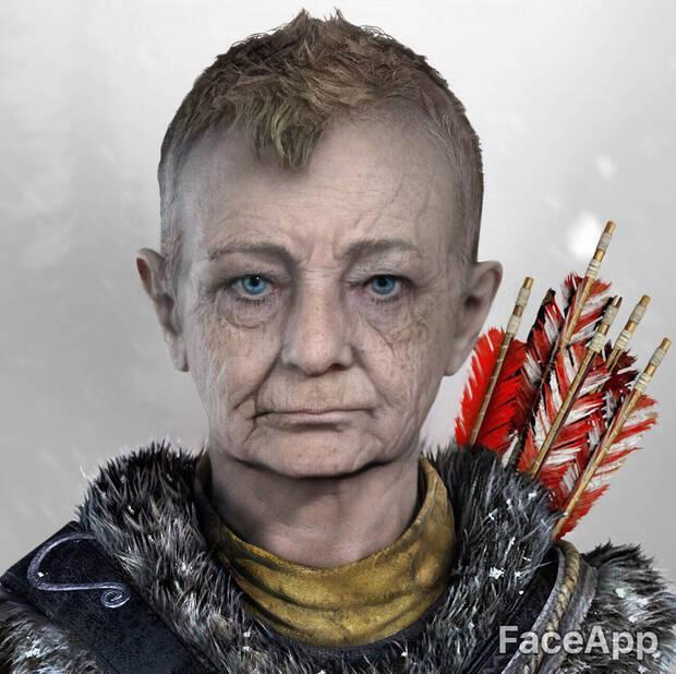 Así envejecen los personajes de videojuegos con FaceApp Imagen 12
