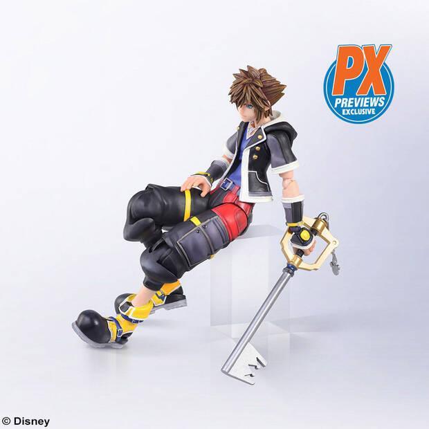 Square Enix presenta una nueva figura de Sora de Kingdom Hearts Imagen 2