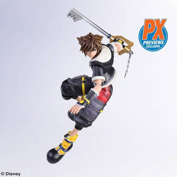 Square Enix presenta una nueva figura de Sora de Kingdom Hearts Imagen 3