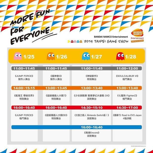 Bandai Namco mostrará un nuevo juego en Taipei Game Show 2019 Imagen 2