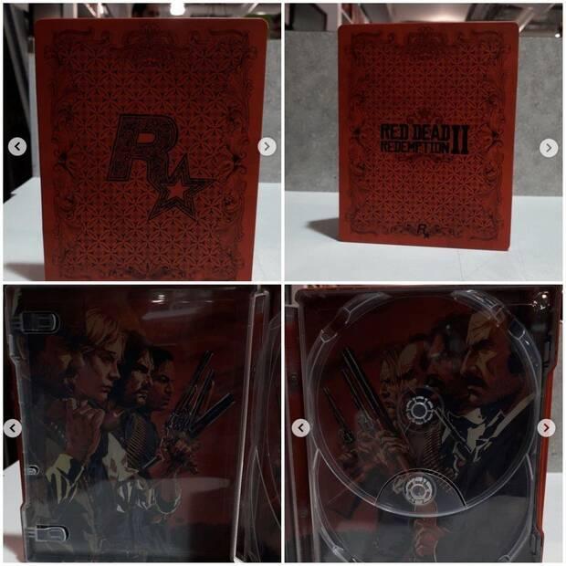 Una fotografía confirma los dos discos de Red Dead Redemption 2 Imagen 2