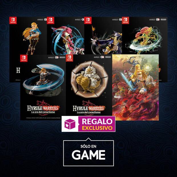 Hyrule Warriors: La era del cataclismo ya se puede reservar en GAME con un regalo exclusivo Imagen 2