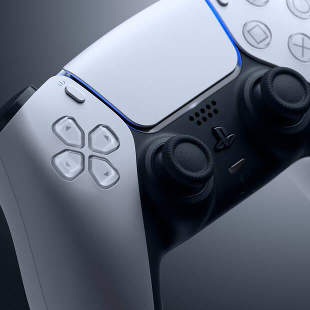 DualSense on PS5, the console is