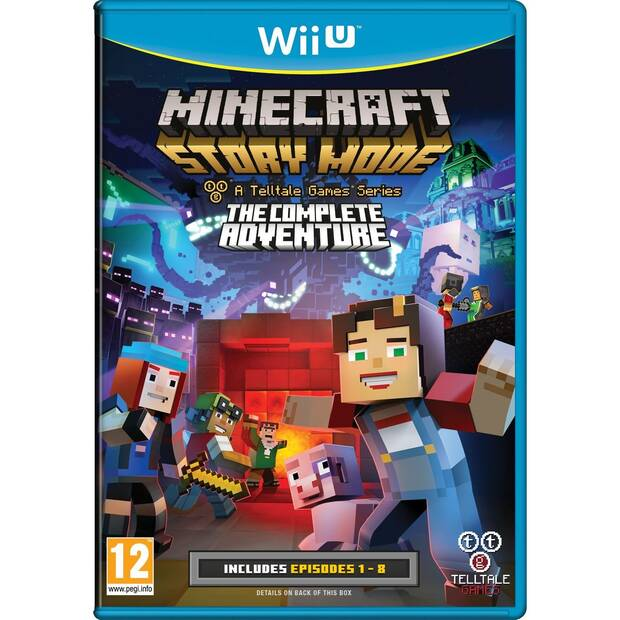 Minecraft Story Mode: The Complete Adventure llega a Wii U Imagen 2