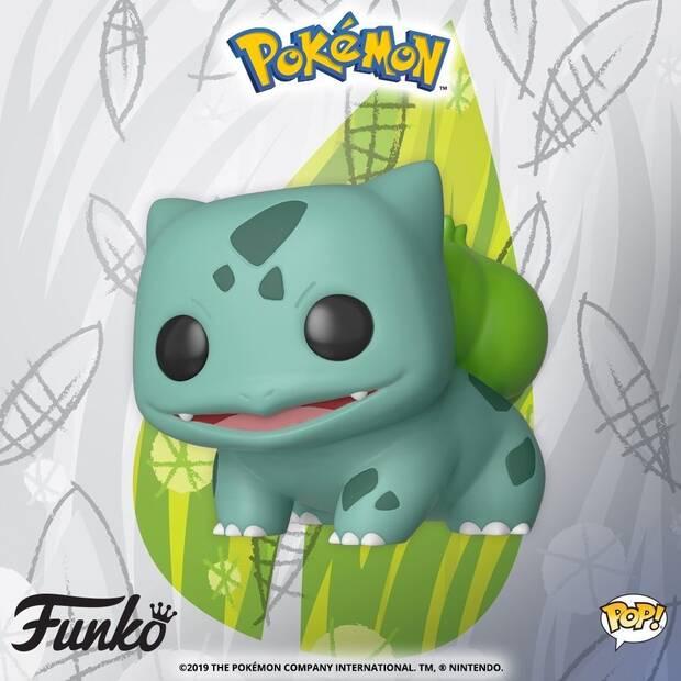 Bulbasaur de Pokémon también recibe su propia versión Funko Pop Imagen 2