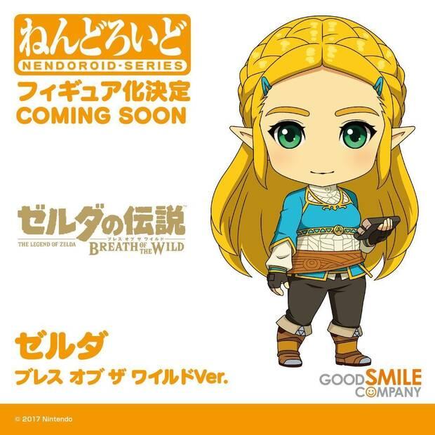 Anunciada una nueva figura 'Nendoroid' de Zelda en Breath of the Wild Imagen 2