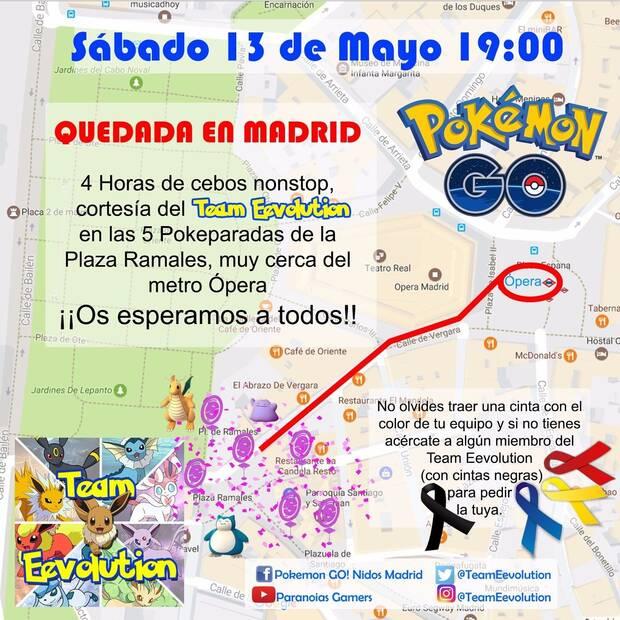 El próximo día 13 de mayo se celebrará una quedada de Pokémon GO en Madrid Imagen 2