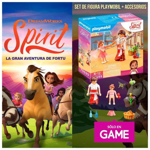Spirit Untamed and its reservation in GAME