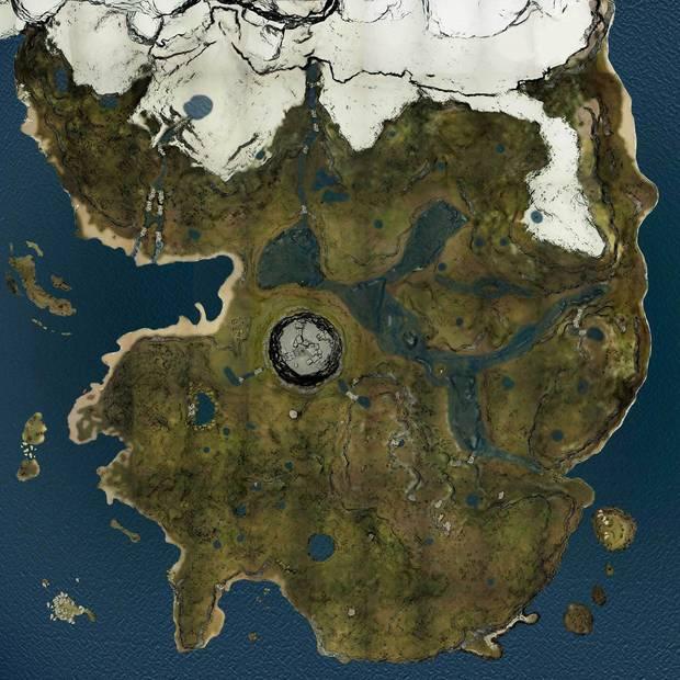 The Forest, Mapa, Mapa interactivo