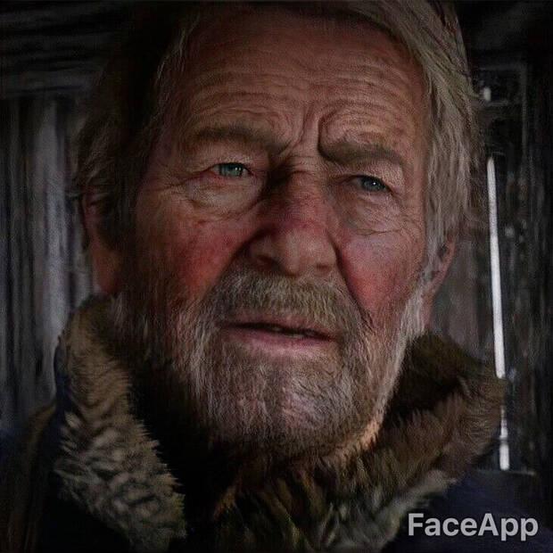 Así envejecen los personajes de videojuegos con FaceApp Imagen 4