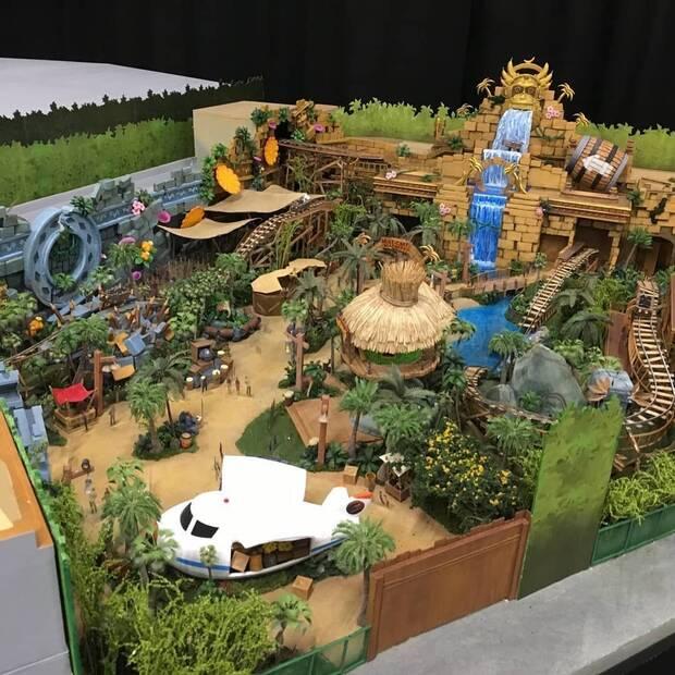 Se filtran imágenes de la maqueta del parque Super Nintendo World Imagen 3
