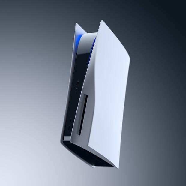 Imagen oficial de una PlayStation 5