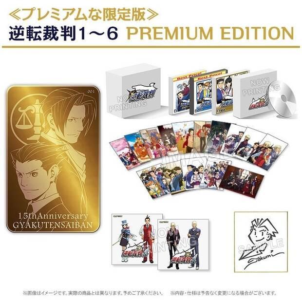 Capcom anuncia una edición especial de la saga Ace Attorney por más de 1000€ Imagen 3