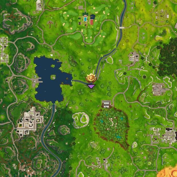 Fortnite: localización del tesoro escondido en Socavón Soterrado