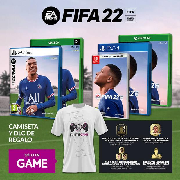 Reserva de FIFA 22 en GAME