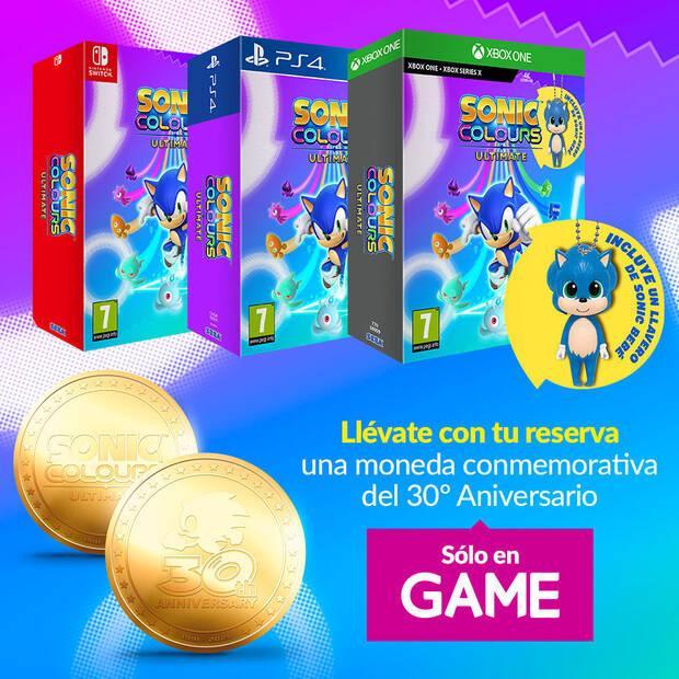 Reserva de Sonic Colours: Ultimate en GAME
