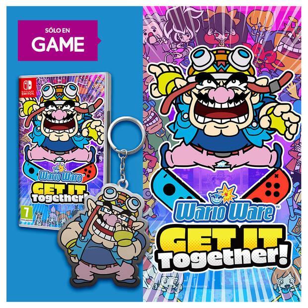 WarioWare: Get It Together! en GAME con regalo