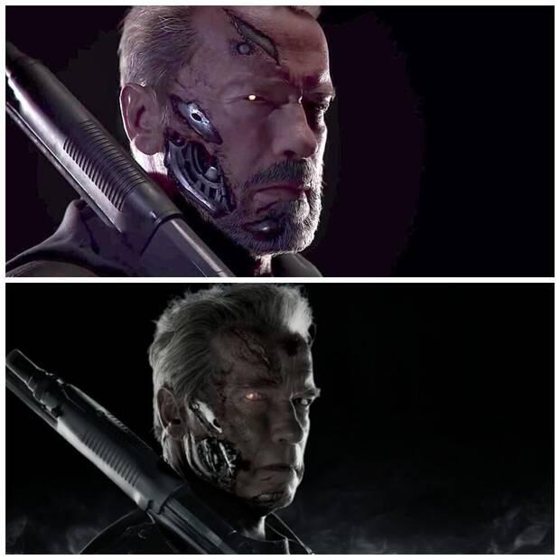 Comparan a Arnold Schwarzenegger de Mortal Kombat 11 con Terminator: Genisys Imagen 2