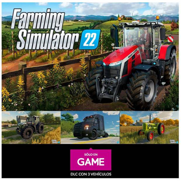 Reserva de Farming Simulator 22 en GAME