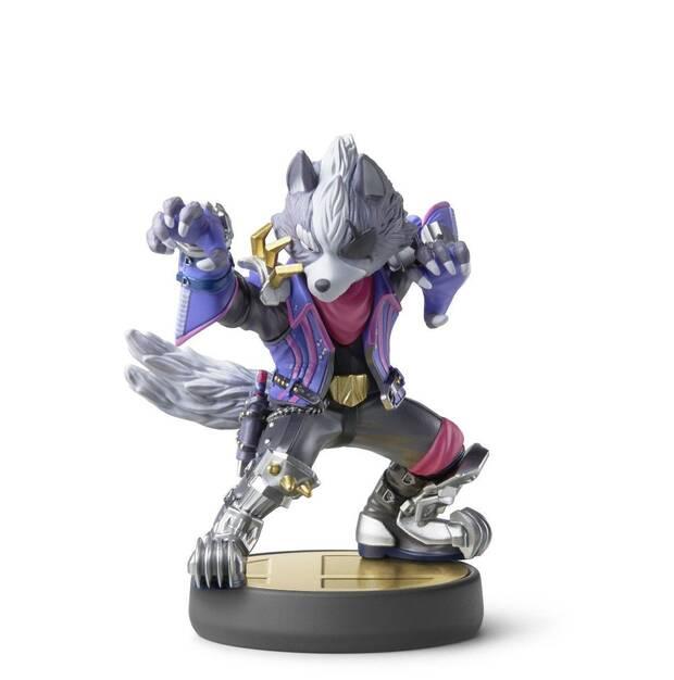 Así es el amiibo de Wolf de Super Smash Bros. Ultimate Imagen 2