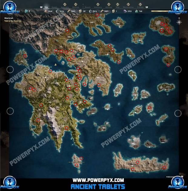 Assassin's Creed Odyssey - Localización de las Ruinas