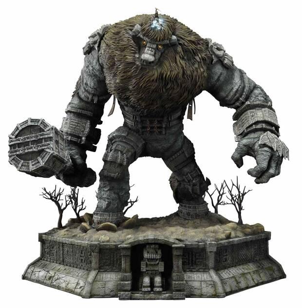 Así es la espectacular figura de 800 dólares del primer coloso de Shadow of the Colossus Imagen 3