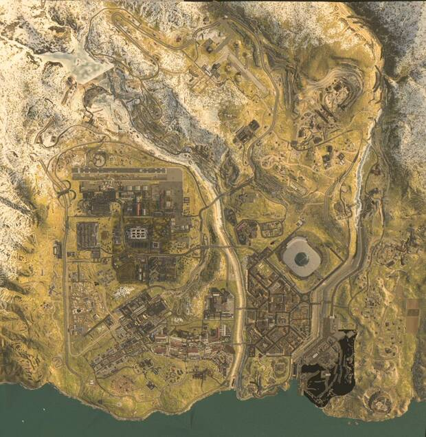 Call of Duty: Modern Warfare: Se filtra el mapa de su modo 'battle royale' Imagen 2